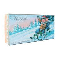 Victoria Christmas Soap - Kids on Sled (505045)
