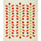 Swedish Dishcloth - Berry Branch Red (218.53R)