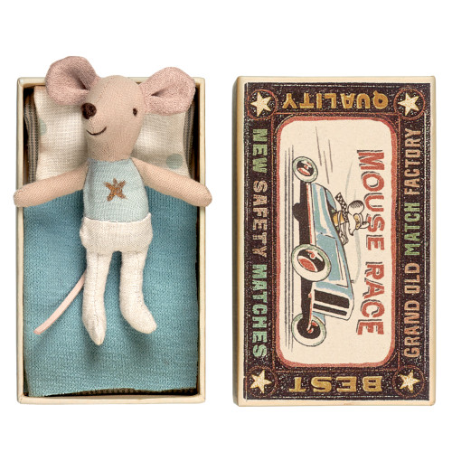 Maileg Mouse in a Box - Little Brother (16-7771)