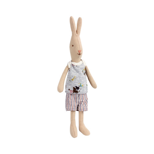 Maileg Boy Rabbit - Mini - 10 inches tall (16-3110)