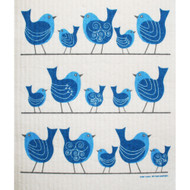 Swedish Dishcloth - Birds On A Wire (219.70)