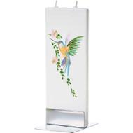Handmade Flat Candle - Hummingbird (D1706)