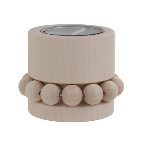 Prinsessa Tealight Candle Holder - Natural (B6231)