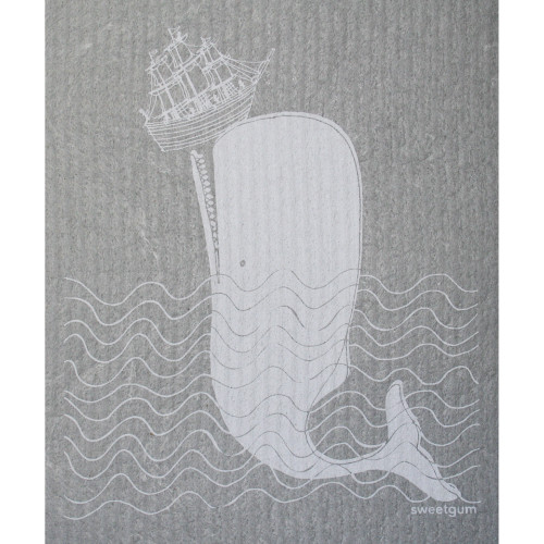 Swedish Dishcloth - Moby Dick (70091)