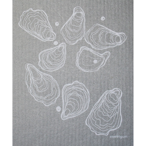 Swedish Dishcloth - Lobsters - Oysters (70093)