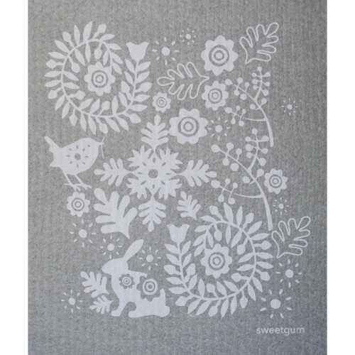 Swedish Dishcloth - Bunny & Bird (70097)