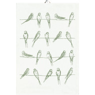 Ekelund Tea/Kitchen Towel - Sitting Birds (Sitting Birds)