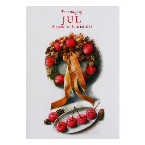 Christmas Notecard.Notecard Folio Jul A Taste Of Christmas 8 Recipes In