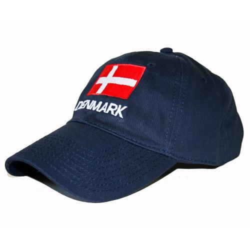 Denmark Flag Embroidered Cap/Golf Hat (GC-D)
