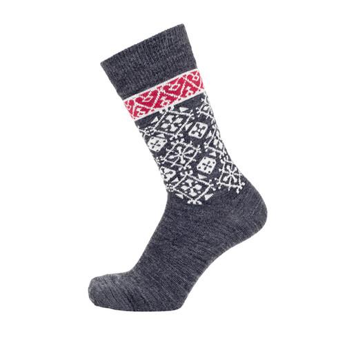 Bengt & Lotta Woolen Socks - Fjallnas - Grey (710819)