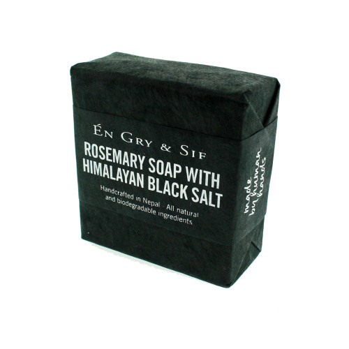 Rosemary Soap w/Himalayan Black Salt - 100g (8491047)