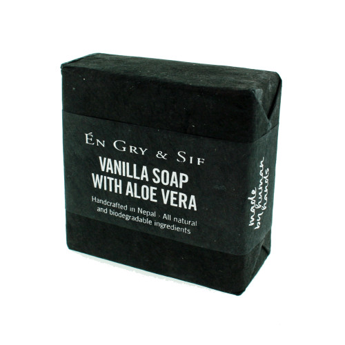 Vanilla Soap w/Aloe Vera - 100g (8491078)