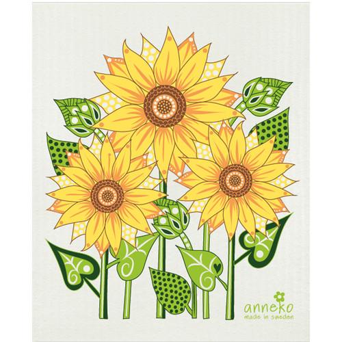 Swedish Dishcloth - Sunflower (DT1802)