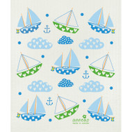 Swedish Dishcloth - Sailing Boats (DT1805)