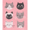 Swedish Dishcloth - Cats Meow (70105)