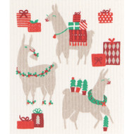 Swedish Dishcloth - Fa La La La Llama (70106)