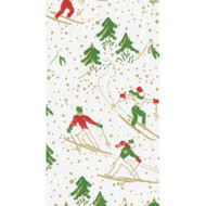 Winter Sports Paper Guest Towel Napkins - 15 PK
