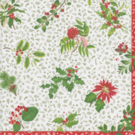English Winter Garden Paper Luncheon Napkins - 20 PK (14820L)