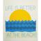 Swedish Dishcloth - Better At The Beach (219.74)