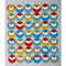 Swedish Dishcloth - Circle Birds (219.9O)