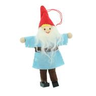 """Nordic Gnome Ornament - Felt - 5"""" (H1-2723)"""