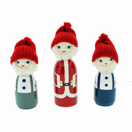 "Santa And His Little Helpers  - 4"" - Gift Boxed Set"