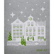 Swedish Dishcloth - Snow in the City (70113)