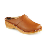 Da Vinci Clogs in Light Brown - Original Sole Collection (457-337)