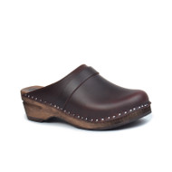 Da Vinci Clogs in Brown - Original Sole Collection (357-317)