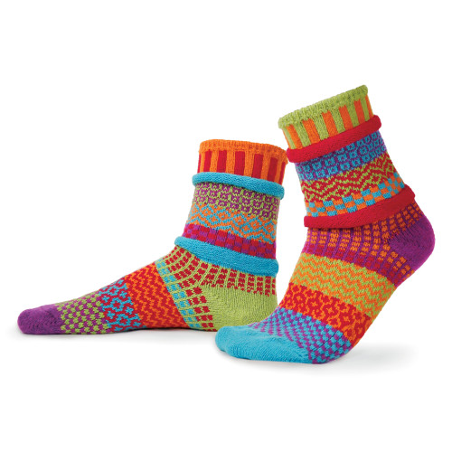 Solmate Socks - Adult Crew - Cosmos (COSMOS)