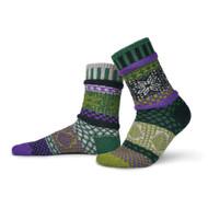 Solmate Socks - Adult Crew - Balsam (BALSAM)