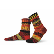 Solmate Socks - Adult Crew - Fire (FIRE)