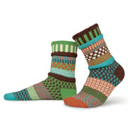 Solmate Socks - Adult Crew - September Sun (SEPTEMBER SUN)