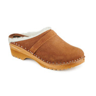 Munich Clogs in Brown Suede (6459-126)