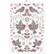 Ekelund Kitchen Towel - Winter Birds (Winter Birds)