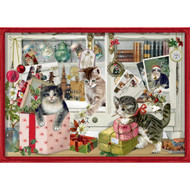"Advent Calendar - Christmas Kittens - 11.25"" x 8"" (94746)"