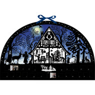 """Advent Calendar - Moonlight Silhouette - 20"""" x 12.5"""" (94719)"""
