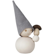 "Tonttu Christmas Frost Elf with Mushroom - 3.5"" (B6840)"