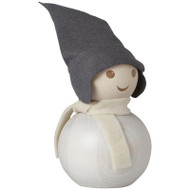 Tonttu Christmas Frost Elf with Scarf - Large - 11.5 inch (B6845)