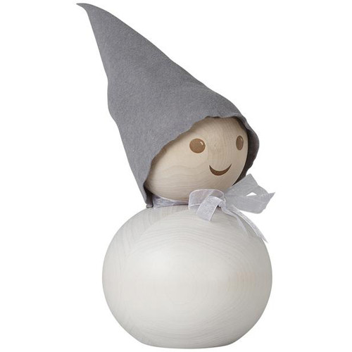 Tonttu Christmas Frost Elf with Bow - Large - 11.5 inch (B6846)