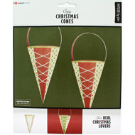 Danish Christmas Cones - 6 pk. (36104)