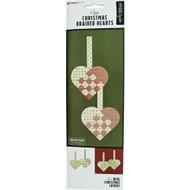 Danish Christmas Braided Hearts Kit - 6 pk. (36105)