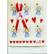 Dish Towel & Dishcloth Set - Angels - 2 Pc's (DT-Angels)