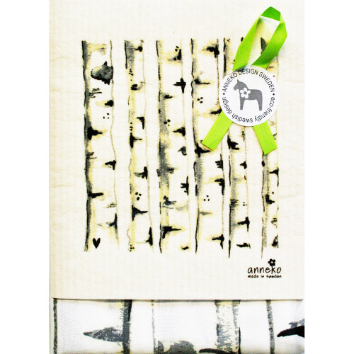 Dish Towel & Dishcloth Set - Birch - 2 Pc's (DT-Birch)