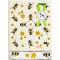 Dish Towel & Dishcloth Set - Honey Bees - 2 Pc's (DT-Bees)