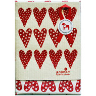 Dish Towel & Dishcloth Set - Hearts - 2 Pc's (DT-Hearts)