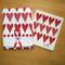 Dish Towel & Dishcloth Set - Hearts - 2 Pc's (DT-Hearts)