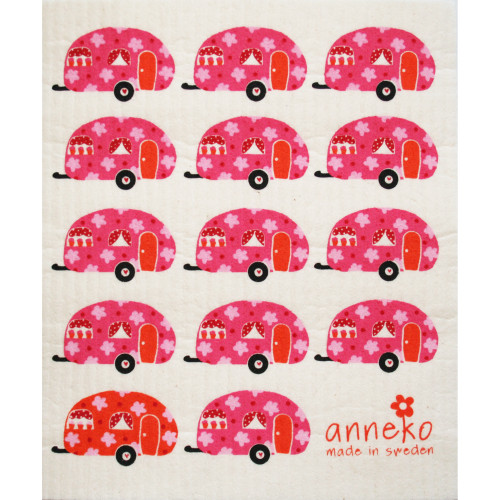 Swedish Dishcloth - Campers (DT1302)