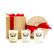 The Christmas Collection - 3 Assorted Scented Candles (K1001)