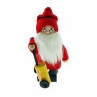 """Tomte Santa w/Glogg Keg - 6"""" (21805)"""